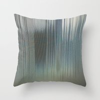 metal Throw Pillows featuring Metal by RDKL, Inc.