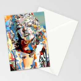 Marilyn Surreal ColLage Portrait Stationery Cards