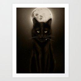 Salem after Dark Art Print