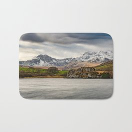 Snowdon Horseshoe Winter Bath Mat