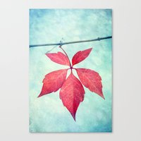 be happy Canvas Prints featuring happy by Claudia Drossert