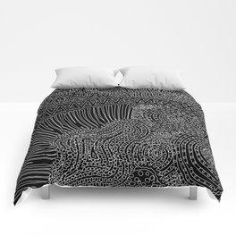 tiny lines Comforters