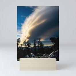 Sierra Wave From Below Mini Art Print