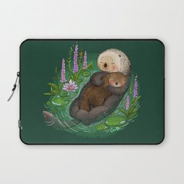 Sea Otter Mother & Baby Laptop Sleeve