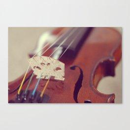 Antique Violin Canvas Print