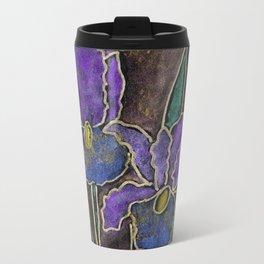 Twinkling Iris Metal Travel Mug