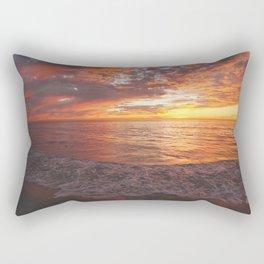 Inspirational Sunset by Aloha Kea Photography Rectangular Pillow