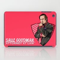 lawyer iPad Cases featuring You need a lawyer? by Akyanyme