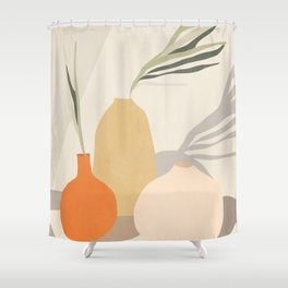 Vases2 Shower Curtain
