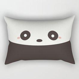Kawaii Cute Panda Bear Rectangular Pillow