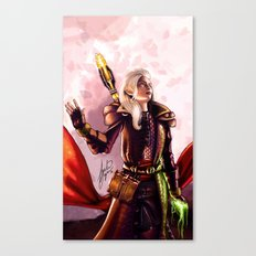 Dragon Age Inquisition - Aspen the elvish mage Canvas Print