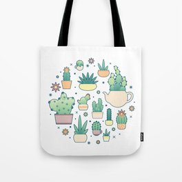 Thorny on the Outside, Ferny on the Inside Tote Bag