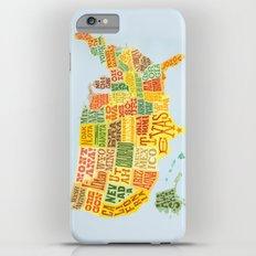 United States of America Map iPhone 6s Plus Slim Case