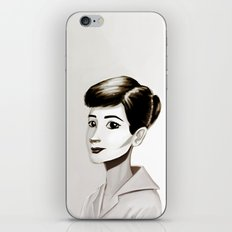 Hepburn iPhone & iPod Skin