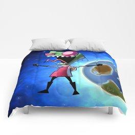 Invader Zim Comforters