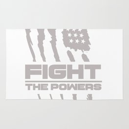 Fight the Powers Rug