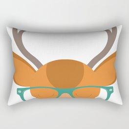 Cartoon Antelope Man Rectangular Pillow