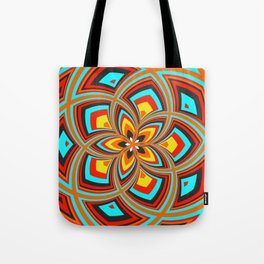 Spiral Rose Pattern C 2/4 Tote Bag