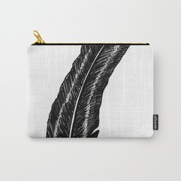 Raven Feather Carry-All Pouch
