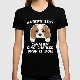 World's Best Cavalier King Charles Spaniel Mom T-shirt