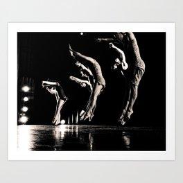 Rehearsal - Dancer Series 1 Art Print
