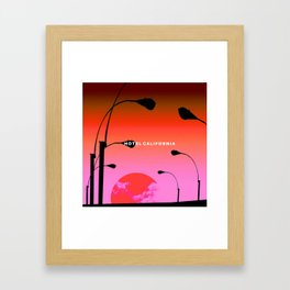 Hotel California Framed Art Print