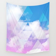 Sky Prism Wall Tapestry
