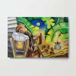 Romance in the countryside Metal Print
