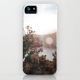 View of the Lago Lacar iPhone Case