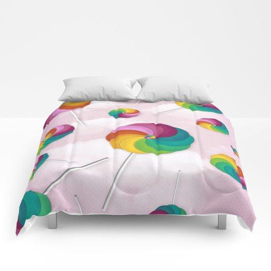 Lollipop Rain Comforters