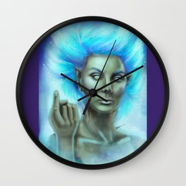 Will o' the Wisp Wall Clock