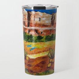Courthouse Butte Rock, Sedona Arizona Travel Mug