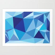Geometric print Art Print