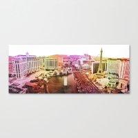 las vegas Canvas Prints featuring Las Vegas by EmilyBest