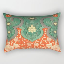 Examples of Chinese Ornament XCIV Rectangular Pillow