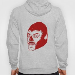 Red Luchador Hoody