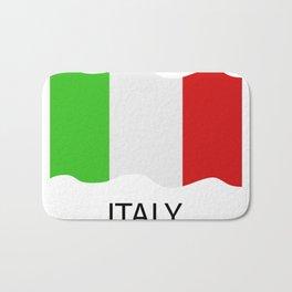 Italy flag Bath Mat