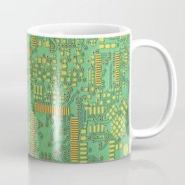 green electronic circuit board Coffee Mug