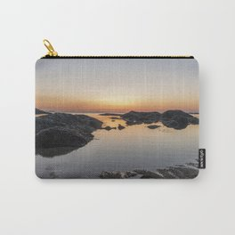 Spring Sunset at Plum Cove Beach Carry-All Pouch