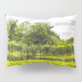 The Lily Pond Art Pillow Sham