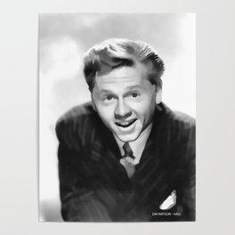 Vintage Mickey Rooney - Circa 1940's Poster
