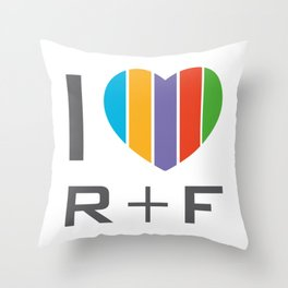 I Love RF Rodan and fields independent consultant Throw Pillow