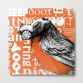 Trash Birds - Sound Pollution Metal Print