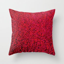 RED SEQUNS. Throw Pillow