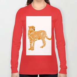Mighty Cheetah  Long Sleeve T-shirt