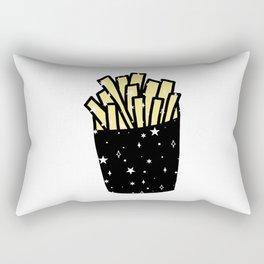 Space Fry Rectangular Pillow