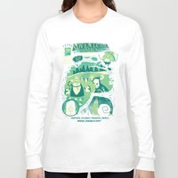 comics Long Sleeve T-shirts featuring Adventure Comics by jublin