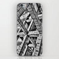 frames iPhone & iPod Skins featuring Frames by Mark Alder