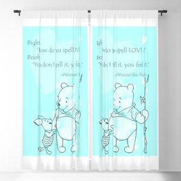 Pooh -  Spell Love... 16 Blackout Curtain