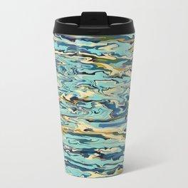 Abstract Oceanic Force Travel Mug